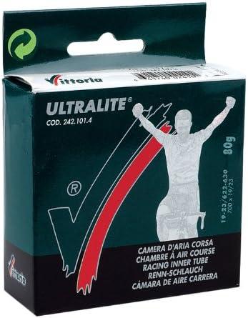 Vittoria Ultralite Tube Intérieur 700 X 25//28 36 mm Presta Pack de 16