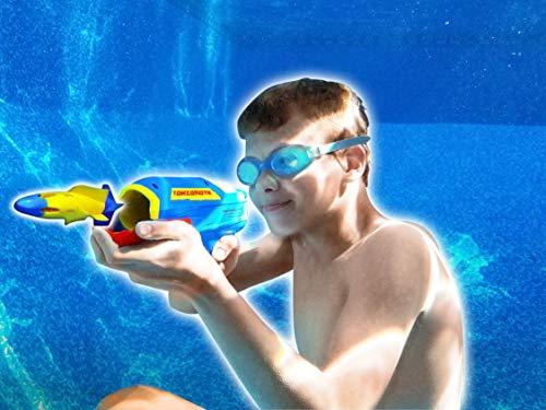 Wave Runner HydroShot Underwater Rocket Launcher- The Best Water Gun for Kids | Shoots A Straight Shot Under Water for Up to 20 Feet! (Single)