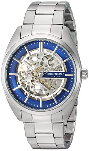 Kenneth Cole New York Men's Automatic Self Wind Stainless Steel Case...