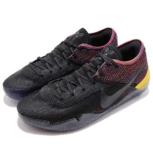 Nike Men's Kobe AD NXT 360, Black/Black-Multi-Color, 13.5 M US