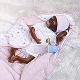iCradle Reborn Muñecos Bebe Reborn Mono Bebé 18 Pulgadas 45cm Bebe Reborn Silicona...