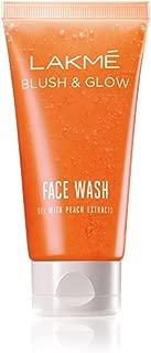 Lakmé Blush and Glow Peach Gel Face Wash, 100g
