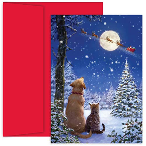 Masterpiece Studios Holiday Collection 18 Cards / 18 Envelopes, And To All A Goodnight 897500