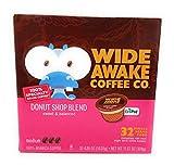 Wide Awake Coffee, Donut Shop Blend K-Cups, 30