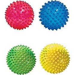 See-Me, See-Thru Nubby Sensory 4 Inch Ball - Small - Round