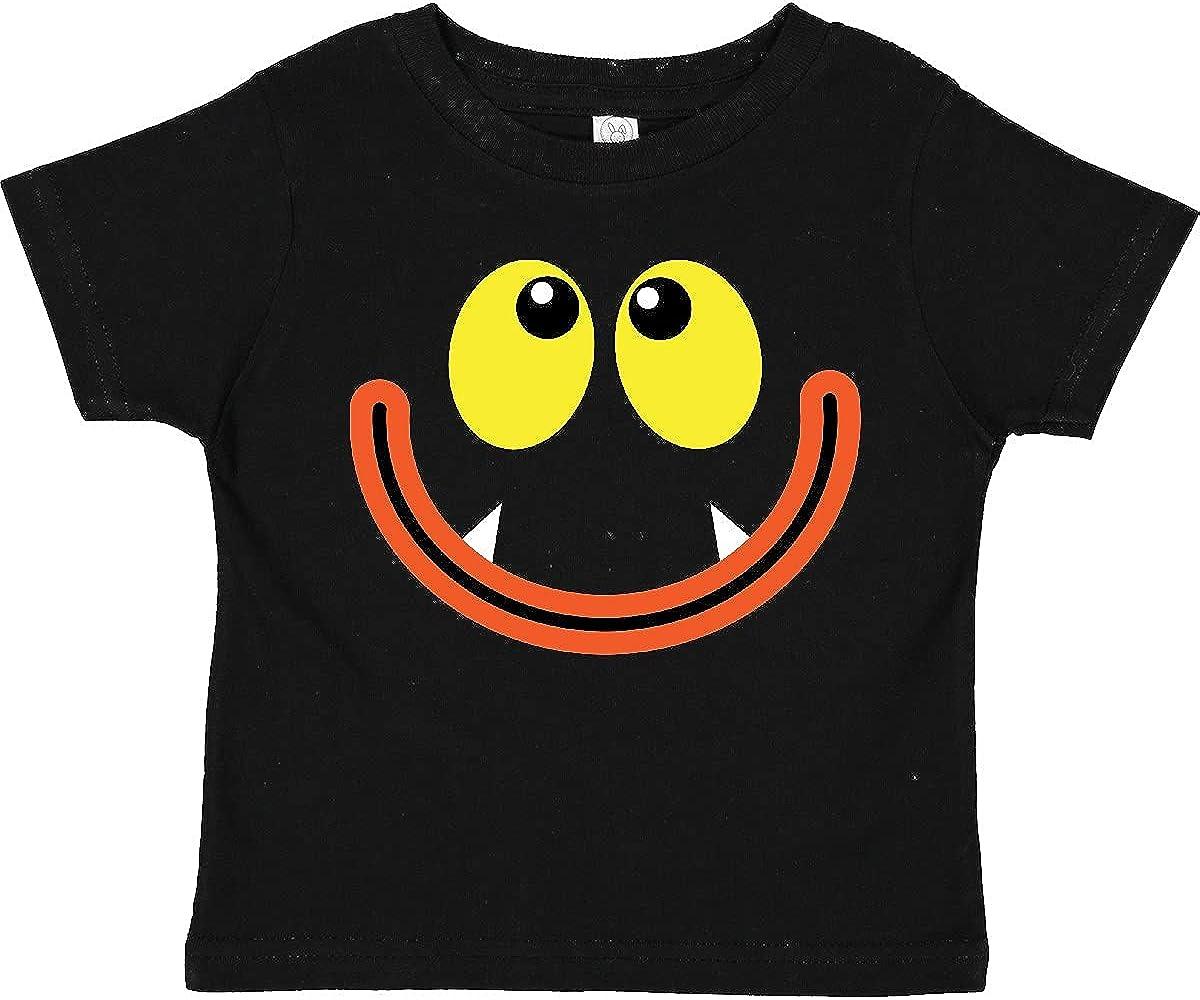 inktastic Monster Face Toddler T-Shirt