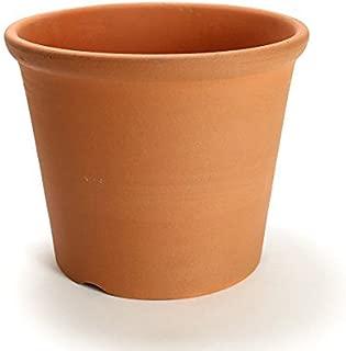 鉢 三河焼 KANEYOSHI 【日本製/安心の国産品質】 陶器 植木鉢 三河焼 Sポット 赤焼 10号