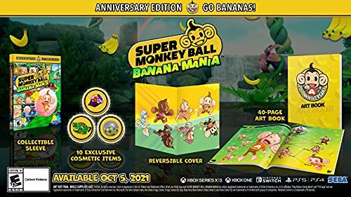 Super Monkey Ball Banana Mania: Anniversary Launch Edition PS5 $39.99   Amazon   Amazon UK…