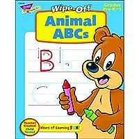 Trend Enterprises Inc。Alphabet Fun Sock Monkeys Wipe Off T-94118