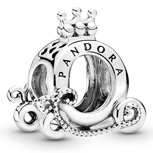 Crown O carriage sterling silver charm
