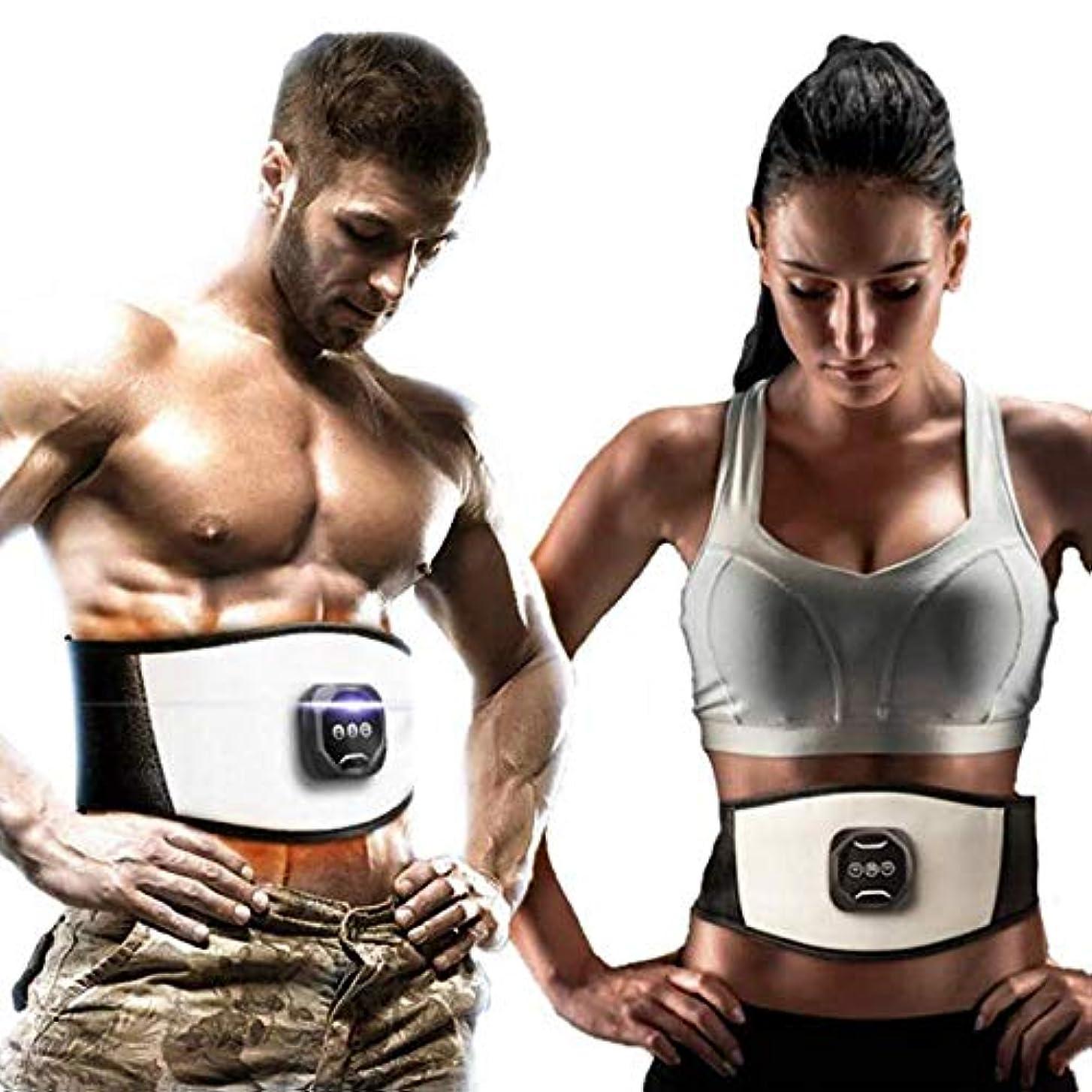 空白喜劇専ら腹部スリミング調整PUベルト電子筋刺激トーニングウエストトレーナー損失重量脂肪ボディマッサージ