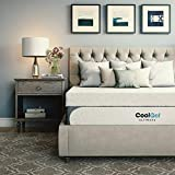 Classic Brands Cool 1.0 Ultimate Gel Memory Foam 14-Inch Bonus Pillow Mattress, Twin, White