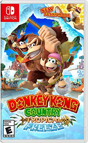 Donkey Kong Country Tropical Freeze – Nintendo Switch – Standard Edition