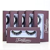 Mila by Timid Lashes   Six-Pack Premium Quality Faux Mink False Eyelashes