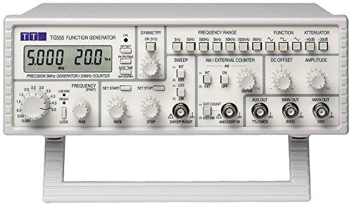 TTI TG550 Generador de barrido/función, LCD, 5 MHz
