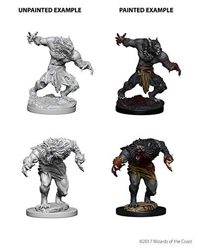Wizkids Werewolves D&D Nolzur's Marvelous Miniatures