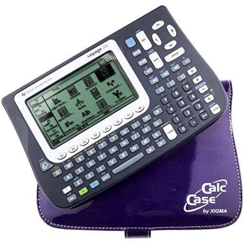 TI-Voyage 200 Bundle mit CalcCase im Trendy Hochglanz Look -Violette-