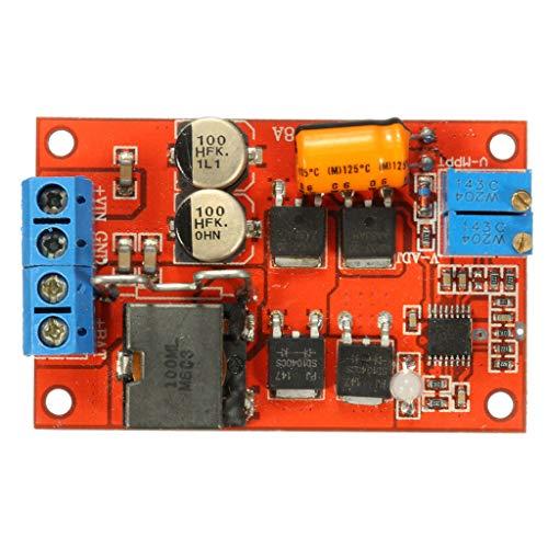 Camisin 5A Mppt Solarpaneel-Regler, Solarladeregler, Kontrollfeld, Batterieaufladung, 9 V, 12 V, 24 V, automatischer Schalter