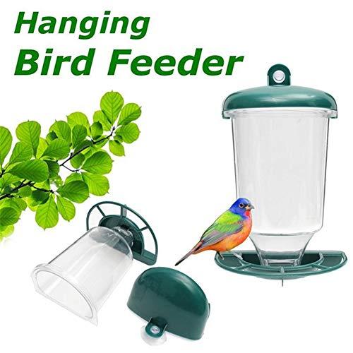ZDYLM-Y Vogelfutterspender, Automatische Fenster Wild Bird Feeder, Garten Outdoor-Feeding-Tool, für die Anziehung Vögel Im Freien