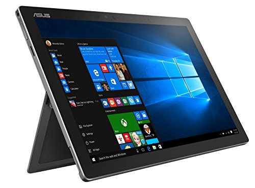 Asus Transformer 3 Pro T303UA-GN050T 32,0cm (12,6 Zoll WQHD+, Touch) Convertible Tablet-PC (Intel Core i7-6500U, 16GB RAM, 512GB SSD, Intel HD-Grafik, Windows 10 Home) grau