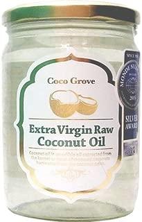 ココグローブ 有機エキストラバージンココナッツオイル 500ml瓶 内容量430g