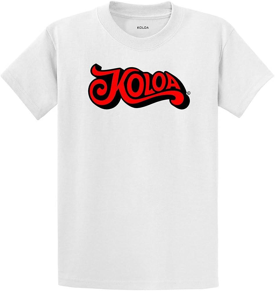 Koloa Stratum Logo Heavyweight Cotton T-Shirts in Regular, Big and Tall