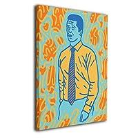 Skydoor J パネル ポスターフレーム 紳士 カラフル インテリア アートフレーム 額 モダン 壁掛けポスタ アート 壁アート 壁掛け絵画 装飾画 かべ飾り 30×20