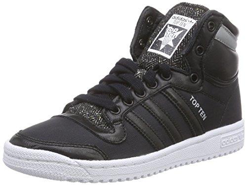 adidas Top Ten HI Winterized - Zapatillas para Hombre, Color Negro/Blanco, Talla 42