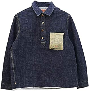 FOBファクトリー FOB Factory G3デニムプルオーバージャケット F2384 メンズ 日本製 Gジャン シャツ