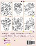 Zoom IMG-1 dolci dessert libro da colorare