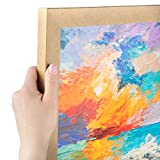 ArtToFrames 14x18 Inch Gold Picture Frame, This 1.25' Custom Poster Frame is Classic Gold, for Your Art or Photos - Comes with Regular Glass, WOM0066-76808-YGLD-14x18