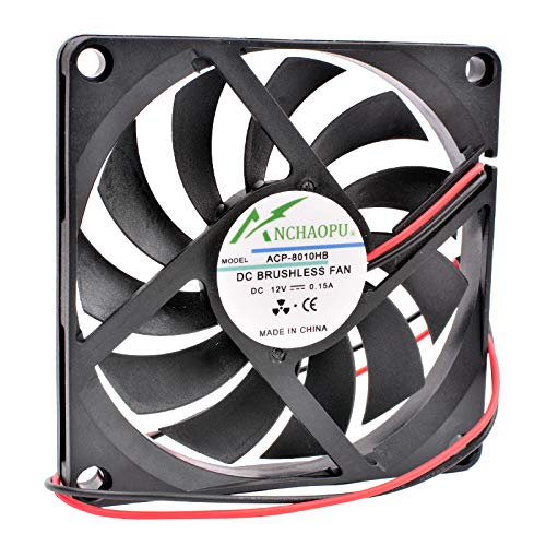 ACP-8010HB 8cm 8010 12V 0.15A ultra-thin silent computer case cooling fan