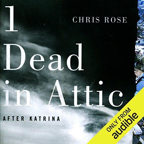1 Dead in Attic audiobook cover art