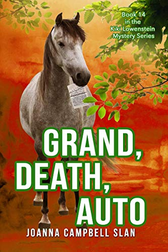 Grand, Death, Auto: Book #14 a series but can be read as a stand-alone book. (Kiki Lowenstein Cozy Mystery Series)