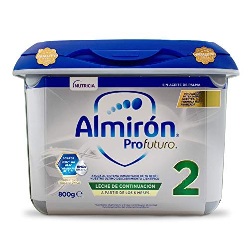 Almirón Profutura 2 Leche de Continuación en Polvo Desde Los 6 Meses, 800g