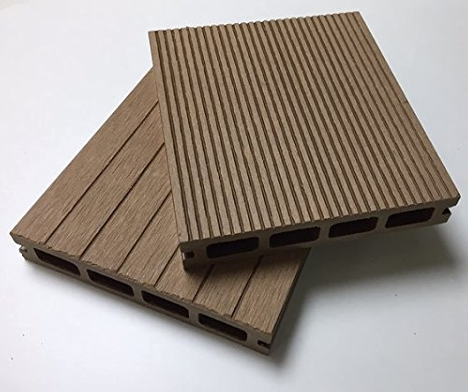 Composite Decking in Various Colours and Pack Sizes Free Delivery (4, Silver Grey)