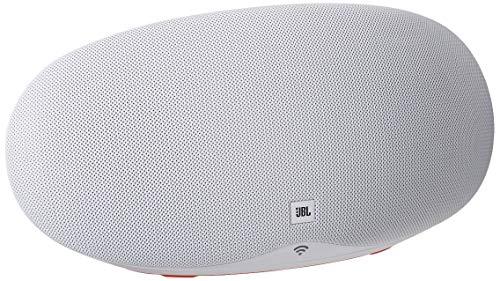 JBL Playlist 150 - Wireless Speaker with Chromecast Built-In - White (Renewed)