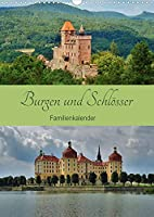 Burgen und Schloesser - Familienkalender (Wandkalender 2022 DIN A3 hoch): Von Mittelalter bis Barock (Familienplaner, 14 Seiten )