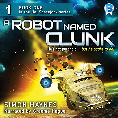 A Robot Named Clunk cover art