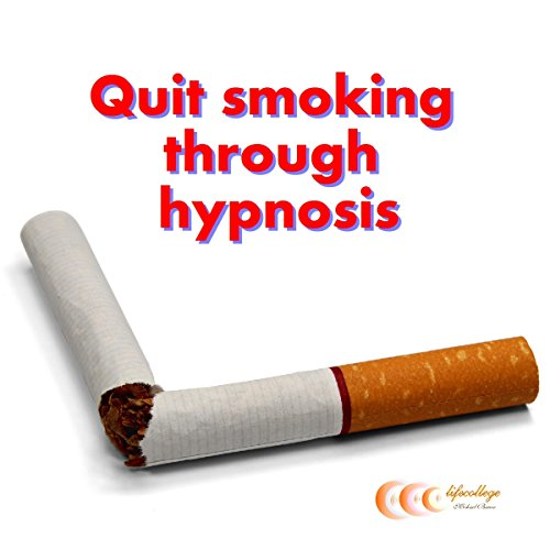 Quit smoking through hypnosis cover art