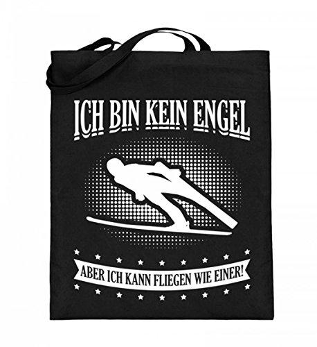 Chorchester Hochwertiger Jutebeutel (mit langen Henkeln) - Ideal für alle Skispringer!