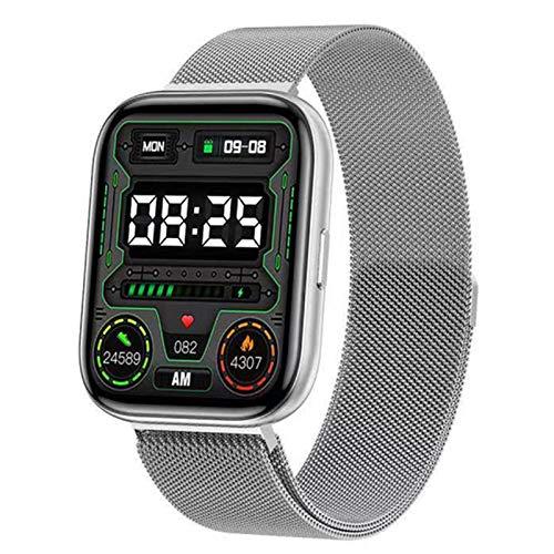 QAK G69 Smart Watch Smart Touch Sports Smartwatch Men's Women's Carey's Rate Waterproof Bluetooth Pulsera Monitoreo De Salud Monitoreo Inteligente Muñeca para Android iOS,D