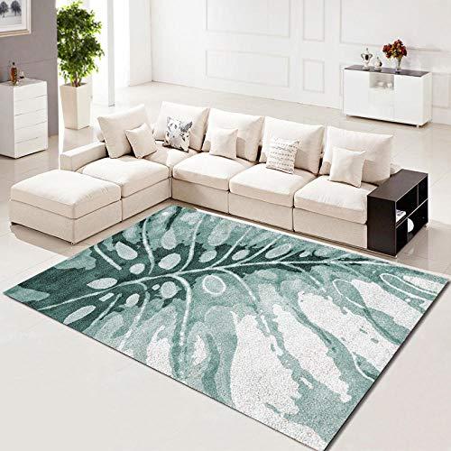 HXJHWB imitatiebont - woonkamer salontafel geometrisch patroon 3D bedrukt tapijtvloermat