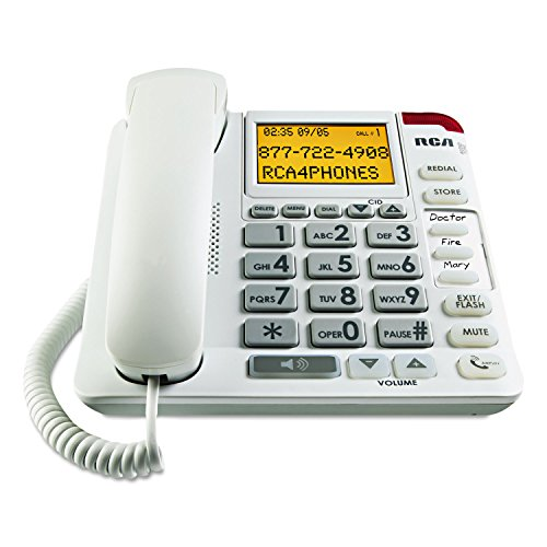 RCA Amplified Big Button CID Phone