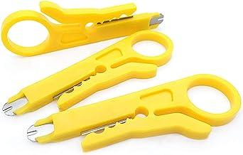 Mini cabo de ferramenta de crimpagem Weletric para cabo de liberação de arame cortador de cabo para cabo de rede RJ45 Cat...