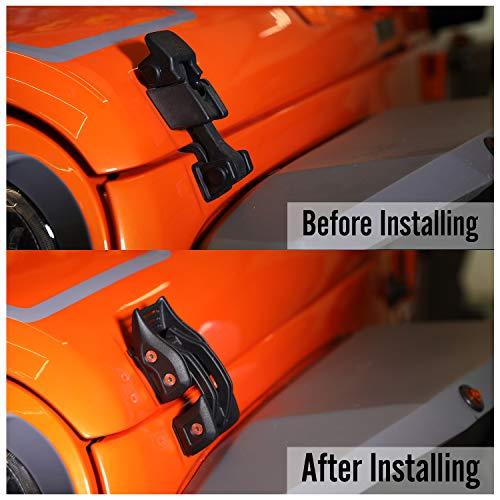 Silver Dewhel Billet Aluminum Latch Pivot for First Gen Tacoma Tundra Rear Quarter Window Vent Repair Pair