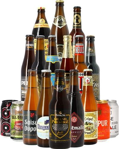 Assortiment 18 styles de bière - Idée cadeau