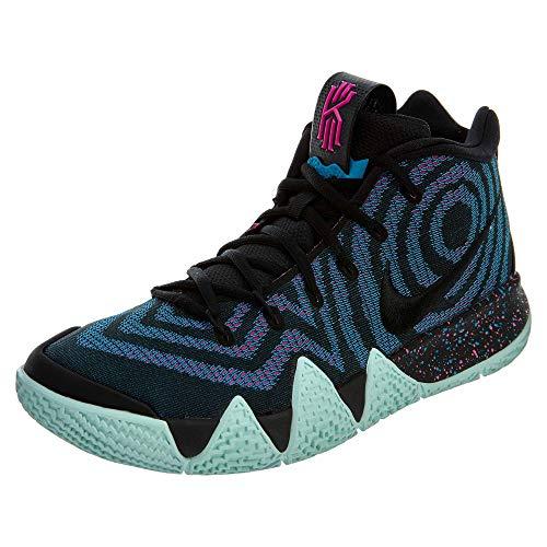 Nike Herren Kyrie 4 Sneakers, Mehrfarbig Black Black Laser Fuchsia 001, 49.5 EU