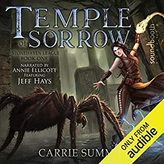 Temple of Sorrow audiobook cover art