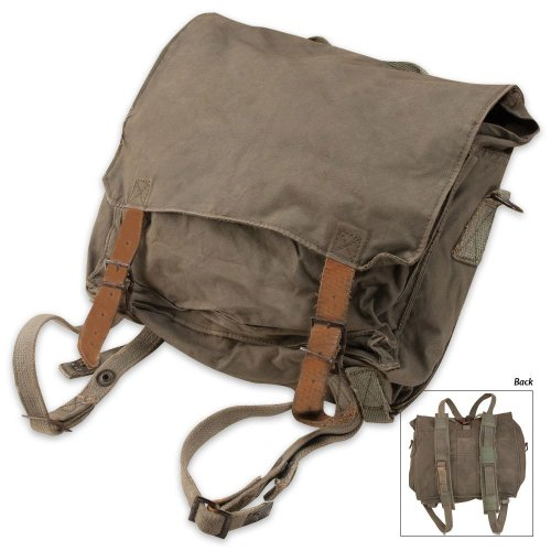 Serbian OD Small Rucksack, Used